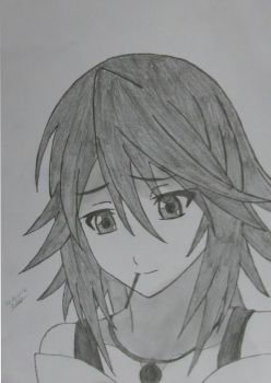 My old drawing by Hyoizaburo