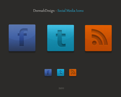 Social Media Icon Collection by Bellie