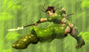 Bamboo Leap by reversenorm