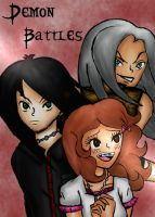 Demon Battles Manga Front Cover by Gabby413