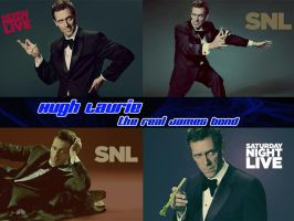 Hugh Laurie real James Bond by Stefaveli