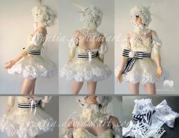 Black Butler Doll costume by oruntia