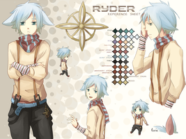 Ryder Reference Sheet by Rejuvenesce