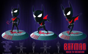 Batman Beyond 3D Low Poly 2 by LordWilhelm