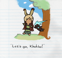 Let's go, Khoko! by Sepent