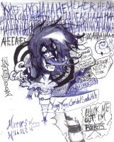 Psycho...this is my mind... by xombiethewhimsical
