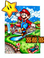 Super Mario by Zeldagal
