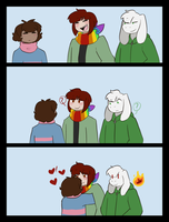 Hug the Chara-cter by Channydraws