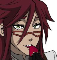 Grell for DeadisAliveButEnding by kogaswolftribebabe