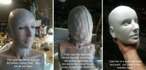 How to get a head in prop making by TimBakerFX