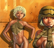 Red Doll Army +Desert Angel+ by augustc4