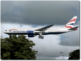 British Airways on approach by tbggtbgg