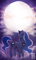 Princess Luna by OctoGear
