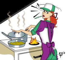 Cooking with Alexia by cyberyanmar