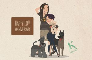 10th Anniversary by AxKato
