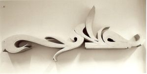 Sculpture - Letter 'S' by shixe