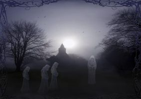 Ghosts of Glaston by DragonDew