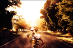Woman on the road by lxXLightXxl