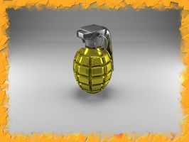 Gold Grenade by Xothex