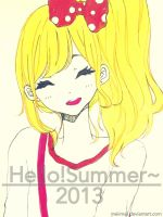 Hello summer! by Mei-chiii