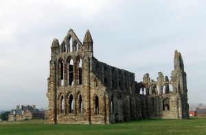 St. Hilda's Abbey ruins at Whitby (3) by PaulineMoss