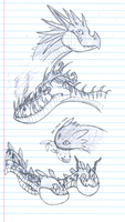 HTTYD Sketch Dump by InfernoKat