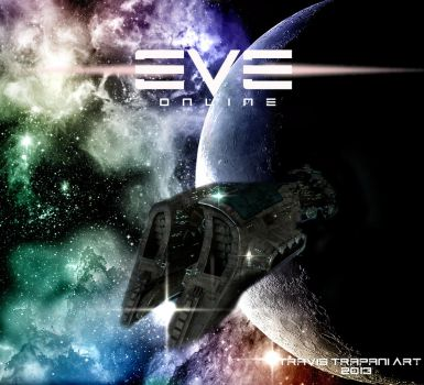 EVE-Online Game Cover by restlessarts