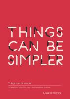 Things can be simpler by iosa
