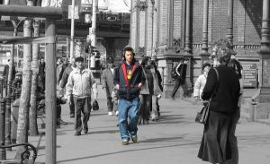 Black and white and color by jcesc
