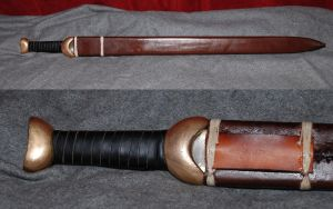 Celtic sword scabbard by Nimpsu
