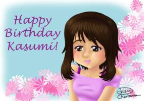 Birthday gift for Kasumi by SilentJ75