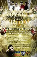 Royalty Party Flyer BackSide by V1sualPoetry