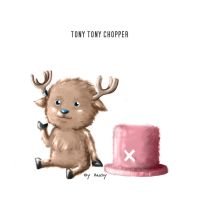 Tony Tony Chopper Color by Angy89