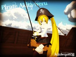 [MMD] Pirate Akita Neru +DL by Party-P