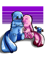 Love Bugs and Wooper V2 by Ericanii