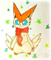 Victini for a Friend by SunstarXD