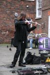 Urban violinist 9 by Random-Acts-Stock