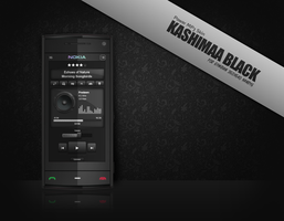 Kashimaa Black Power MP3 Skin by Blackfly78