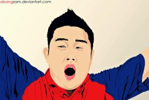My first Vector by AbangZam