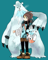 touko and those bears by piyohiko