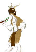 Custom Anthro Adoptable - Male Deer by ShadowInkAdopts