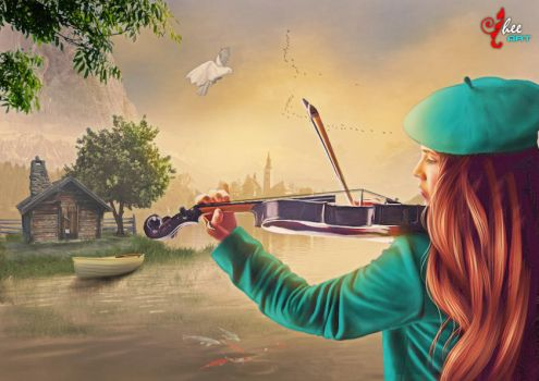 The Violinist - dheean by dheean
