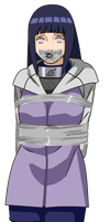 Hinata Hyuga Tied Up and Gagged by songokussjsannin8000