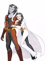 Timber Wolf and Phantom Girl by Lady-Leviathan104-24