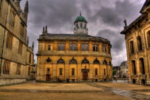 Sheldonian by A-Glass-Brightly