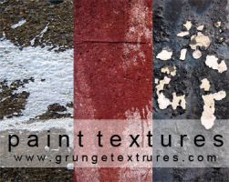 Paint Textures by laceratedwristsstock