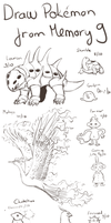 Draw Pokemon From Memory 9 by ShadeofShinon