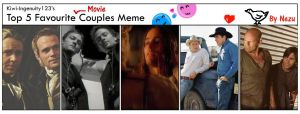 My fav. couples meme - Movies by nezukuro