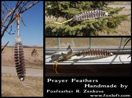 Prayer Feathers by Foxfeather248