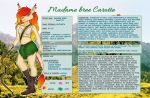 Madame Bree Carotte - reference sheet by xmelax